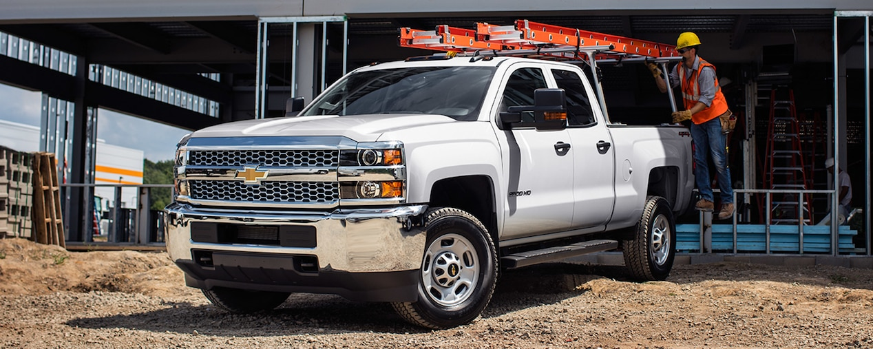 Chevy Silverado HD Legendary Capability On The Worksite