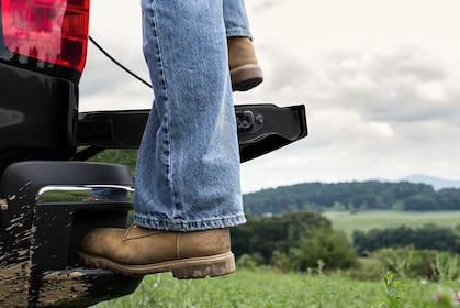 Chevy Silverado HD Cornerstep Rear Bumper