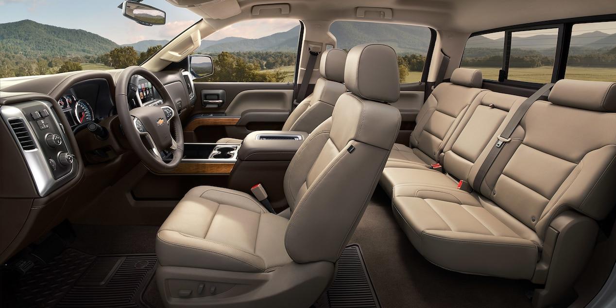Chevy Silverado HD Comfortable And In Control