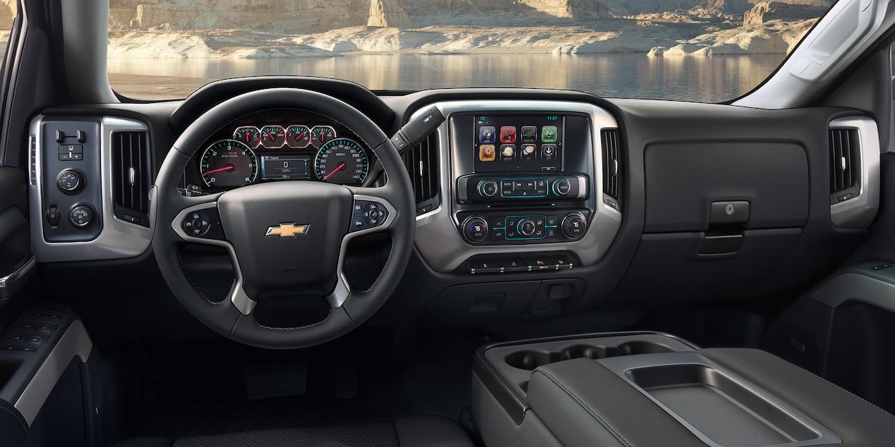 Chevy Silverado HD Interior