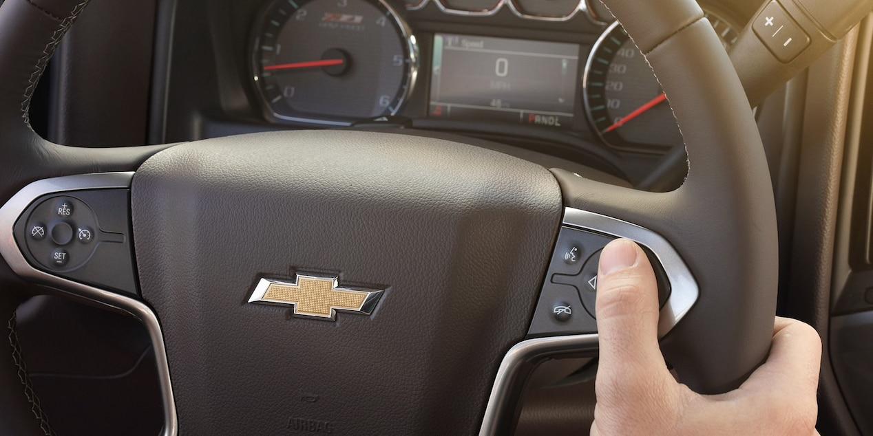 Chevy Silverado HD Cockpit