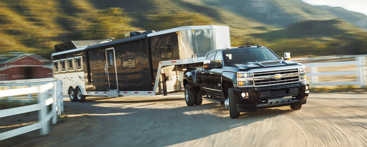 Chevy Silverado HD You're First In Command