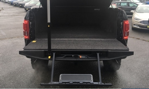 2017 Ford F-150 Lariat SuperCrew Cab Shelby Tailgate Storage Capability