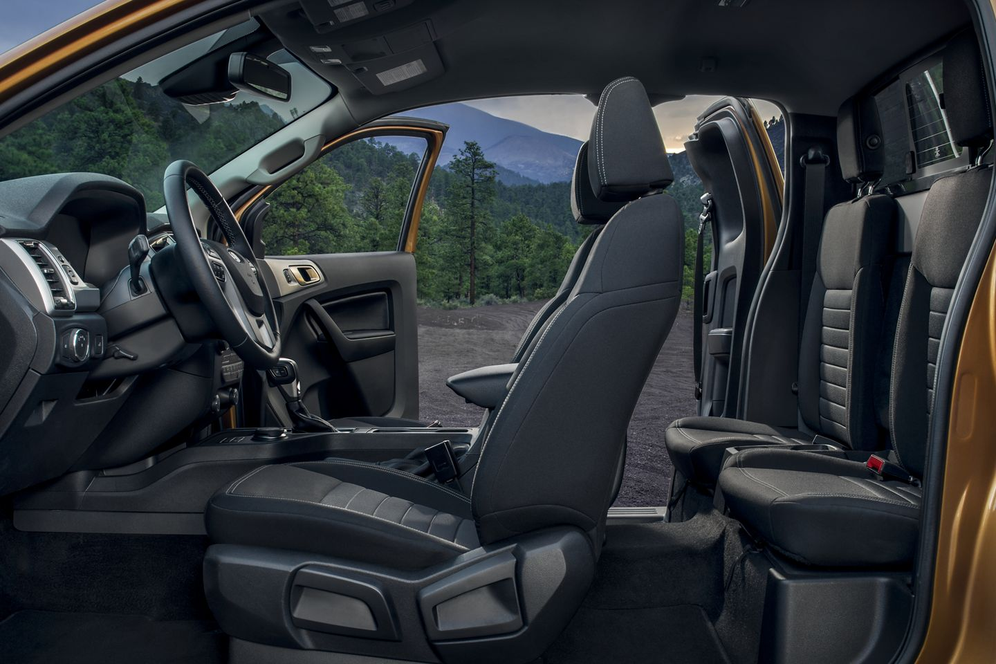 New 2019 Ford Ranger Seats