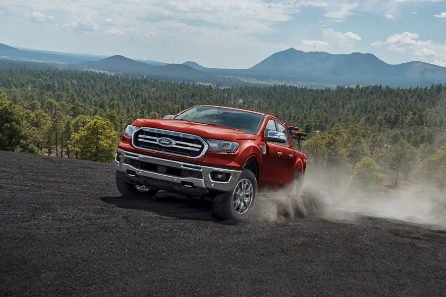 New 2019 Ford Ranger 4x4 Electronic Shift-on-the-fly