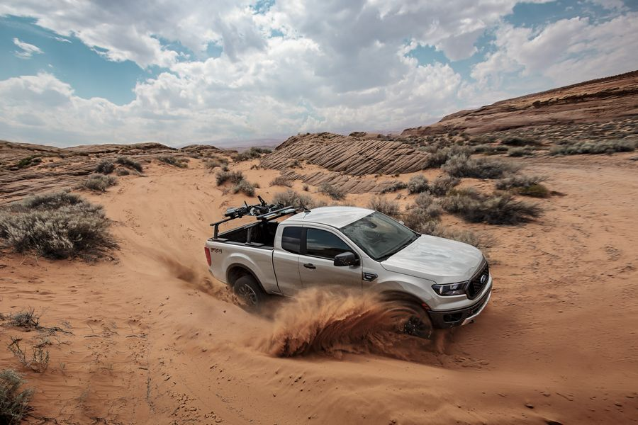 New 2019 Ford Ranger Electronic-Locking Rear Differential