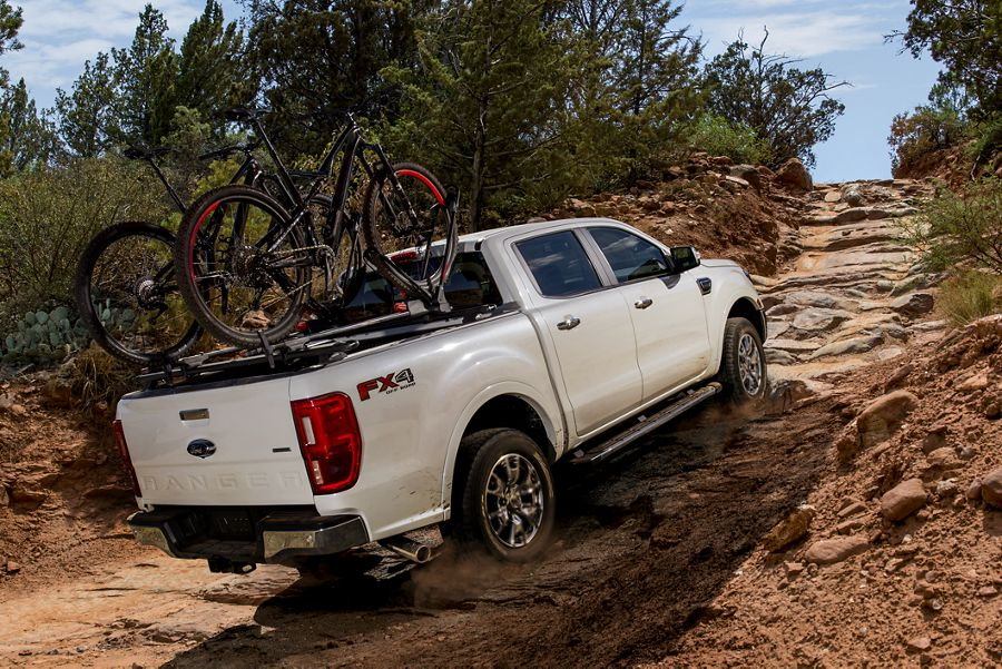 New 2019 Ford Ranger Off-Road Ground Clearance