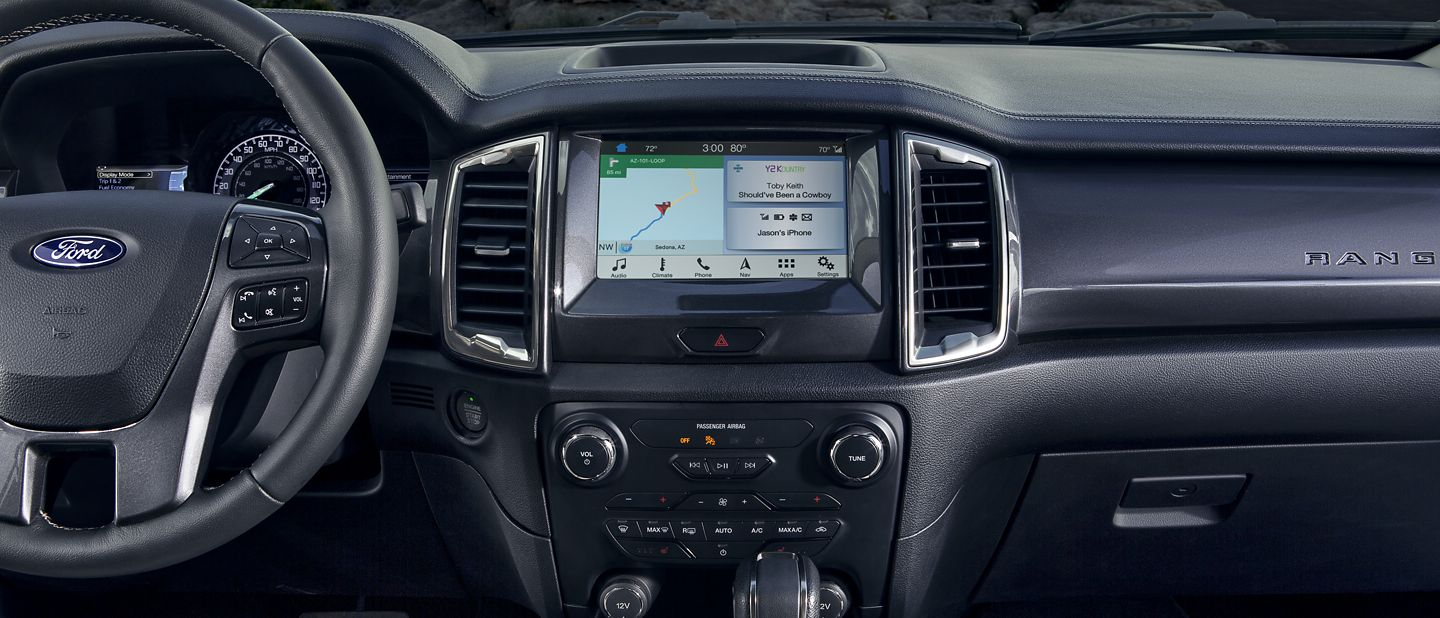 New 2019 Ford Ranger Connect Easily To The World Around You.