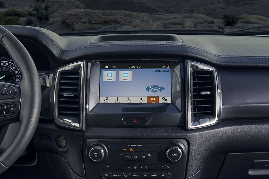 New 2019 Ford Ranger Ford+Alexa, A Match Made In Tech Heaven