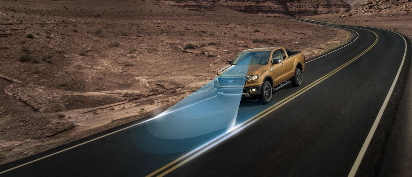 New 2019 Ford Ranger Lane-keeping System
