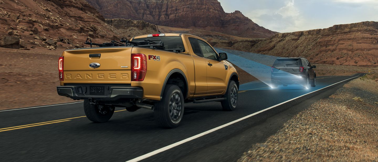 New 2019 Ford Ranger Adaptive Cruise Control And Forward Collision Warning With Brake Support