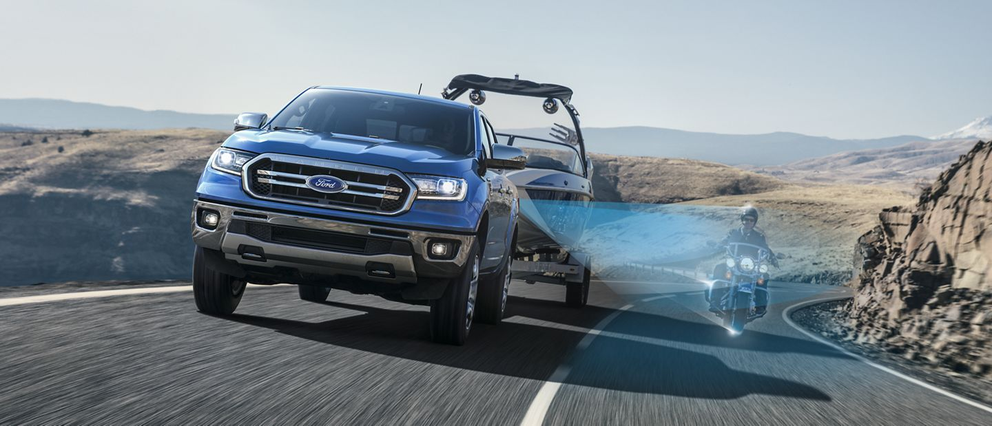 New 2019 Ford Ranger Blis™ With Trailer Coverage