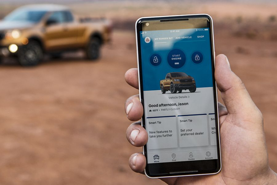 New 2019 Ford Ranger Fordpass® Connect
