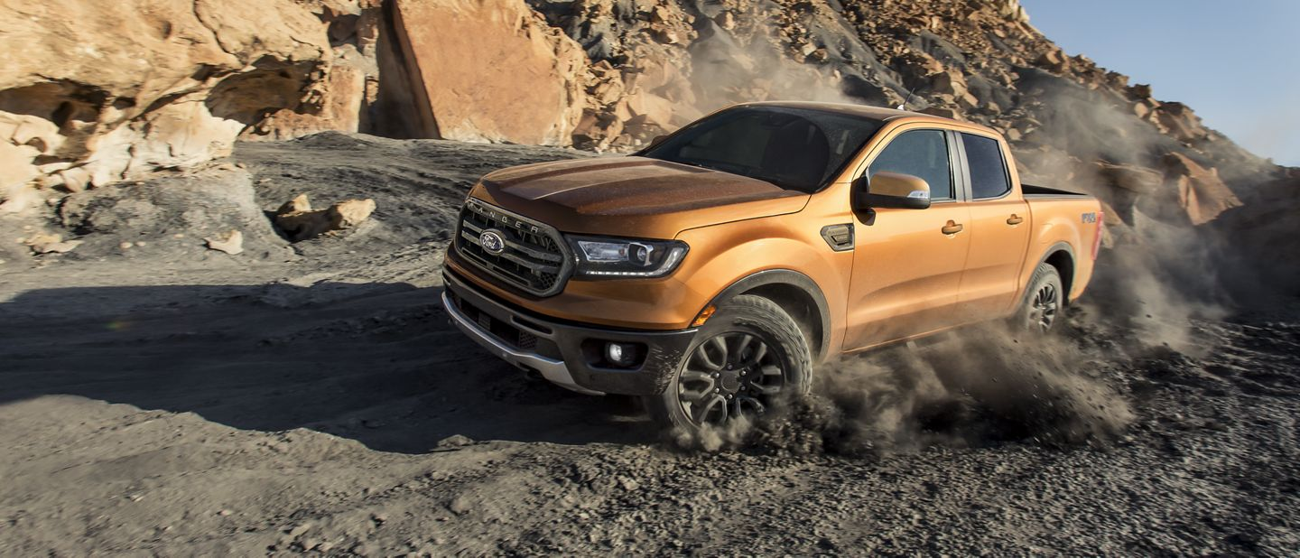 New 2019 Ford Ranger Built Ford Tough® . And Ready For Adventure.