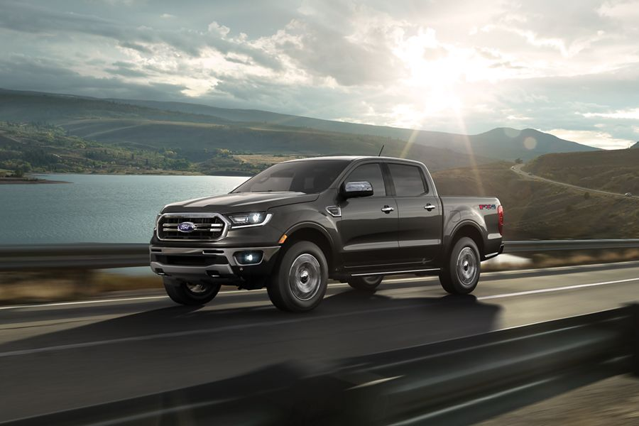 New 2019 Ford Ranger Best-in-class Epa-Estimated Gas Mpg