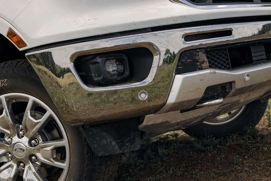 New 2019 Ford Ranger High-strength Steel Frame And Frame-mounted Steel Bumpers