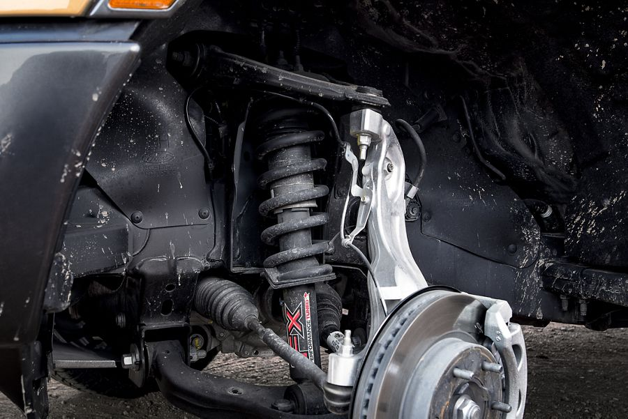 New 2019 Ford Ranger Independent A-Arm Front Suspension