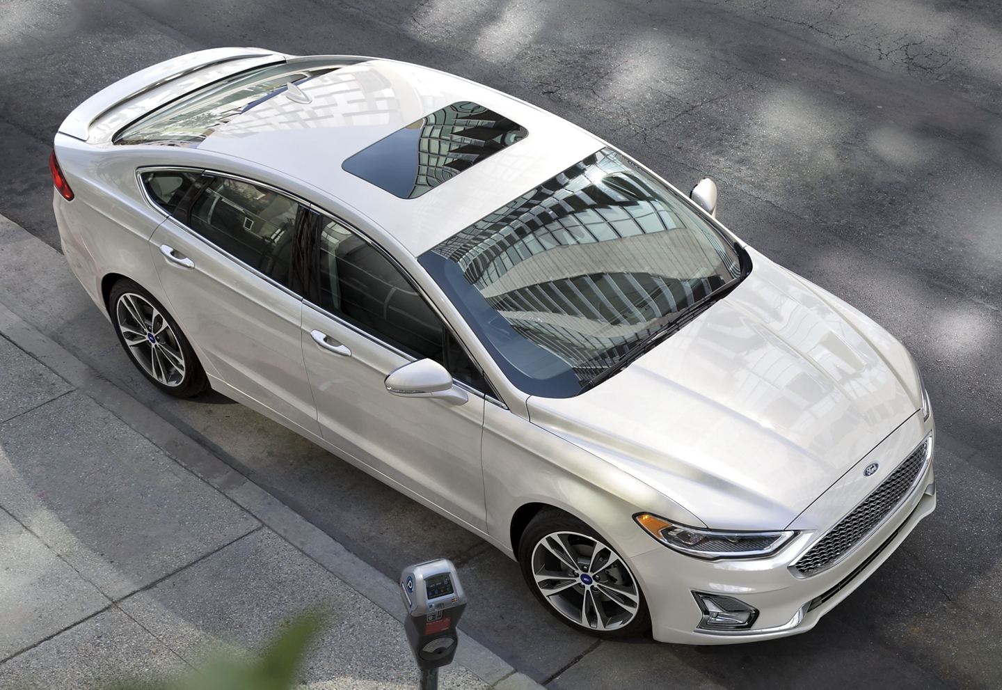 New 2020 Ford Fusion Side