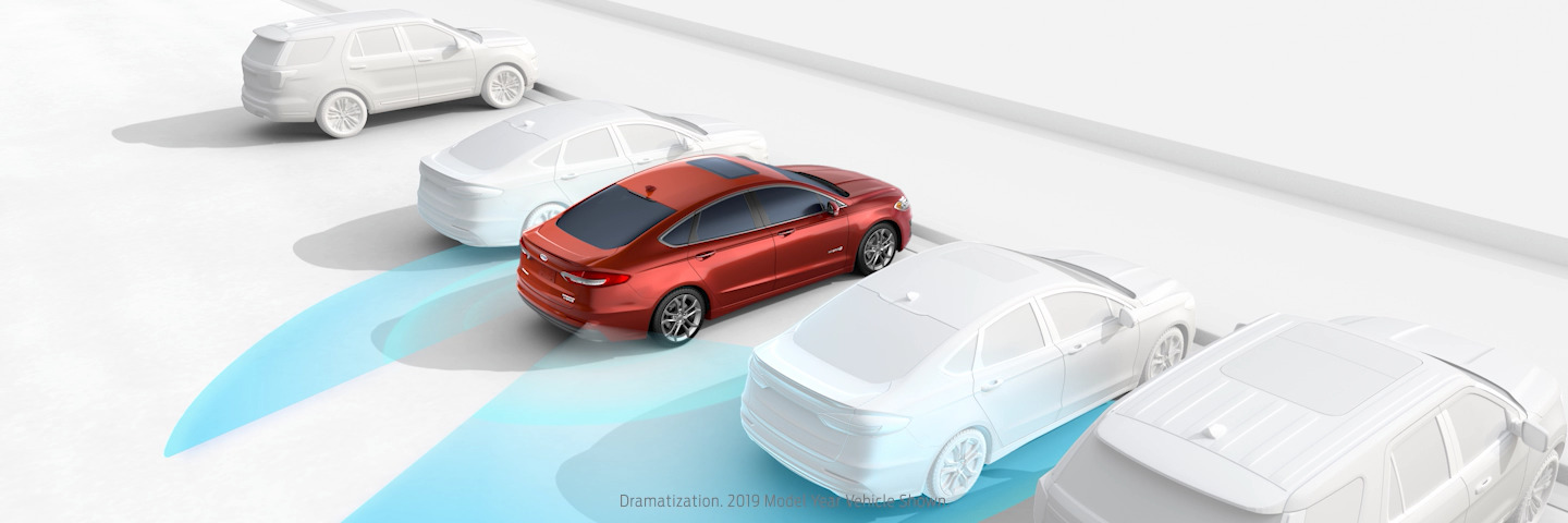 New 2020 Ford Fusion BLIS (Blind Spot Information System) With Cross-Traffic Alert