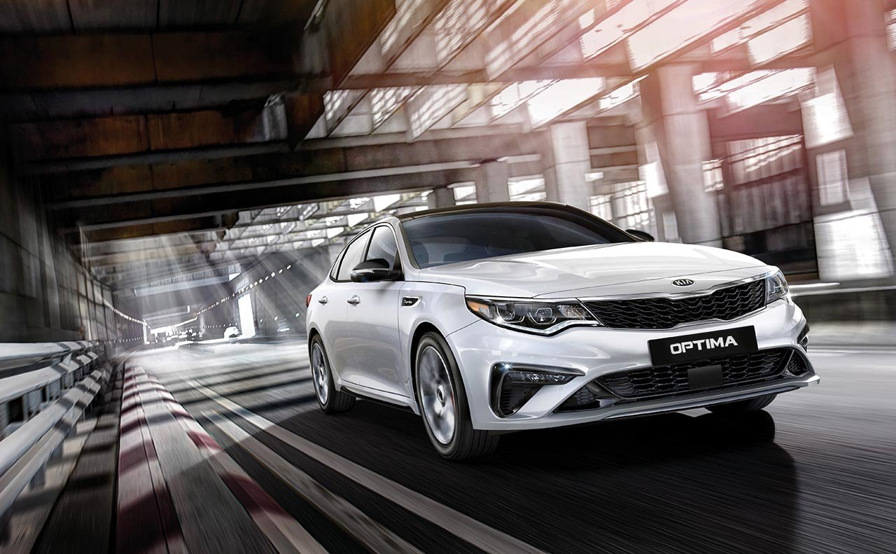 New 2019 Kia Optima On The Go