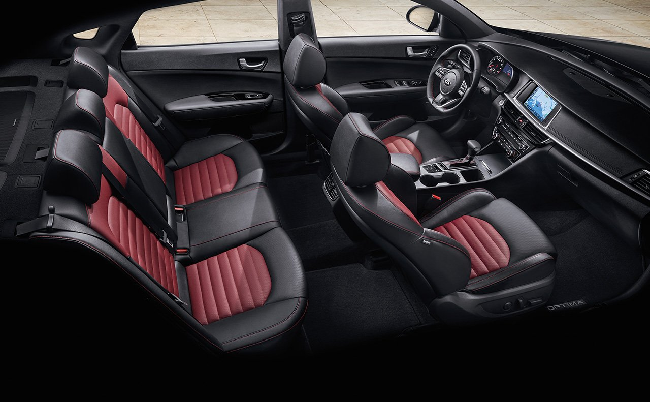 New 2019 Kia Optima Seat
