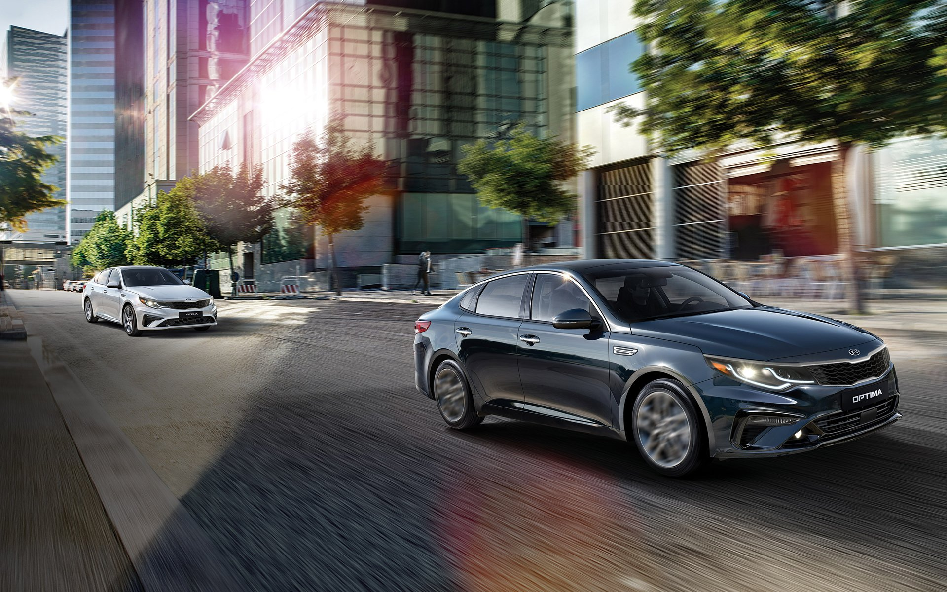 New 2019 Kia Optima So Smart.