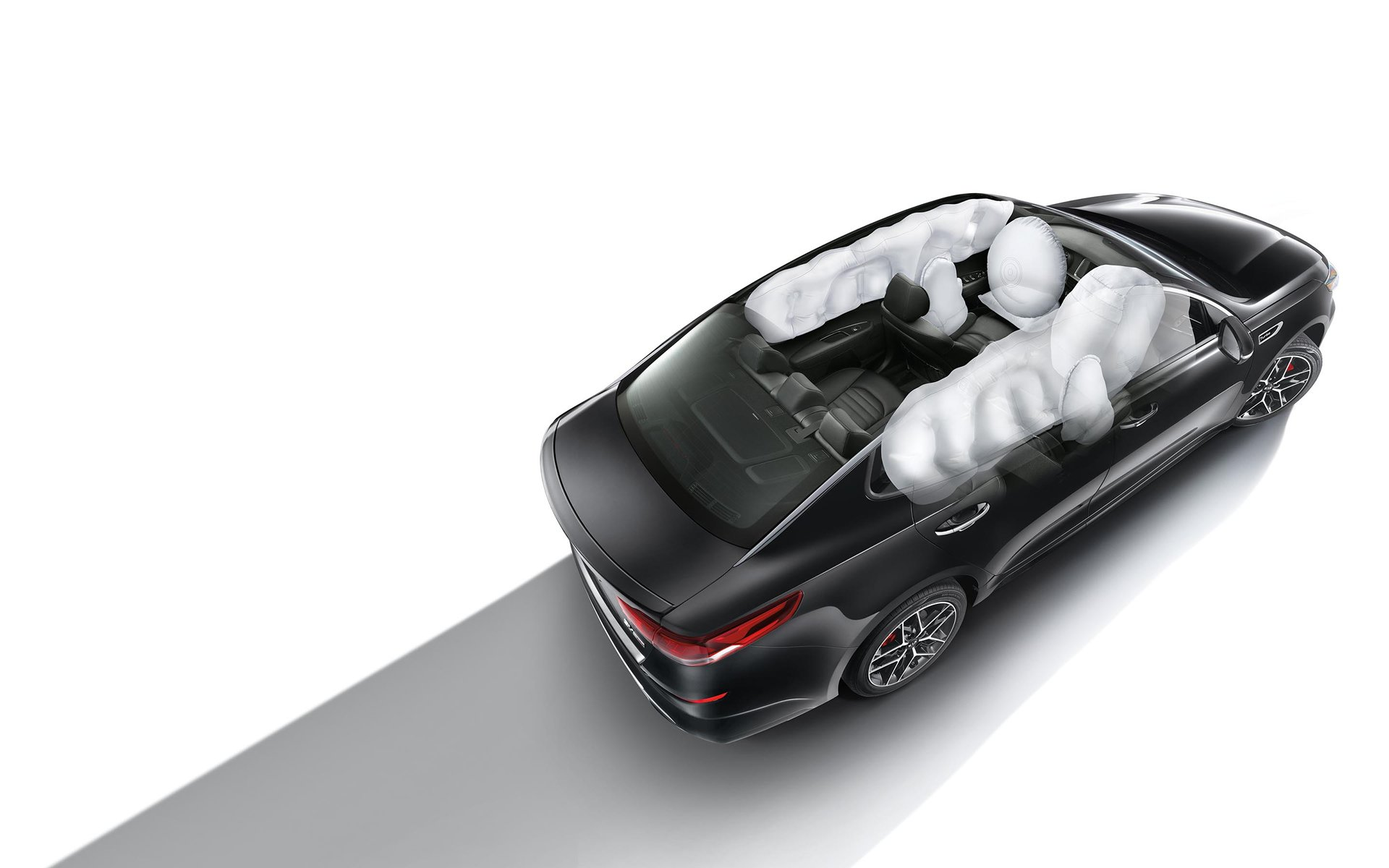 New 2019 Kia Optima Airbags