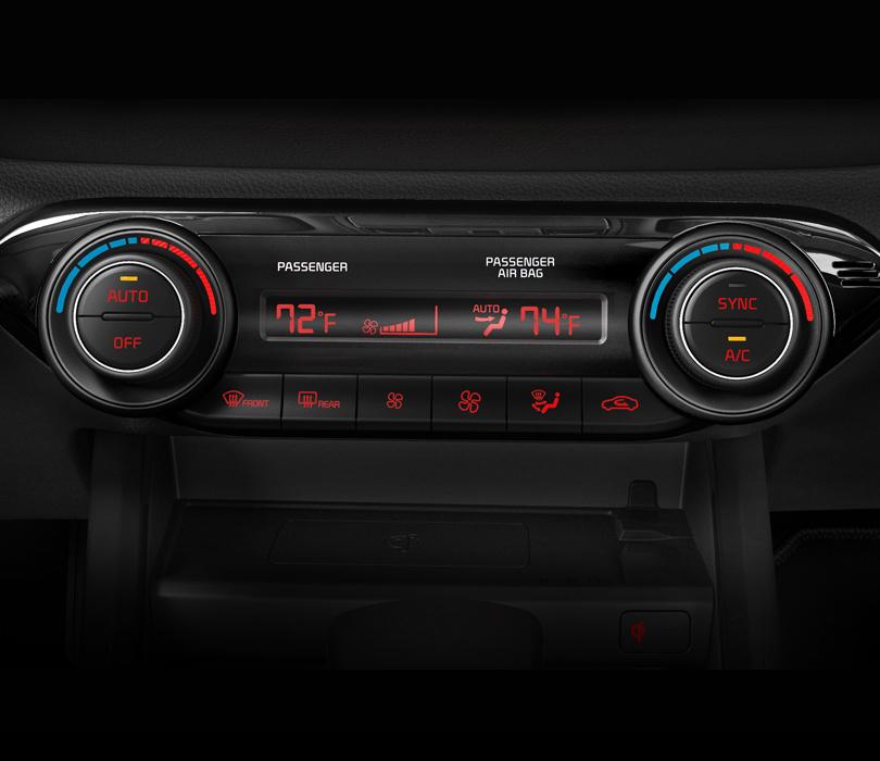 New 2020 Kia Forte Dual Zone Automatic Temperature Control