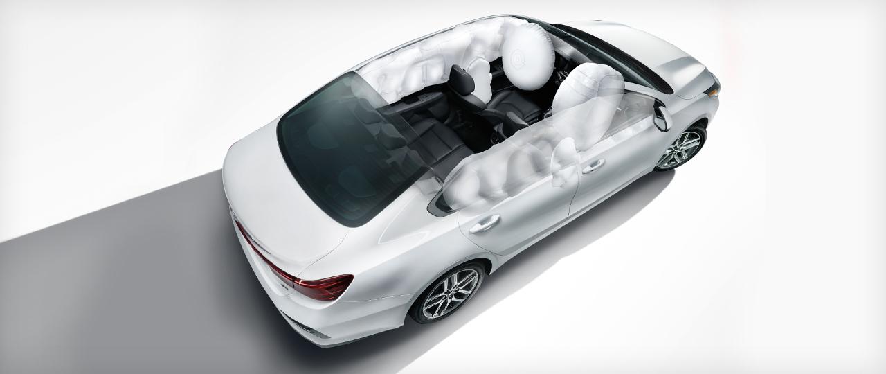 New 2020 Kia Forte Advanced Airbags