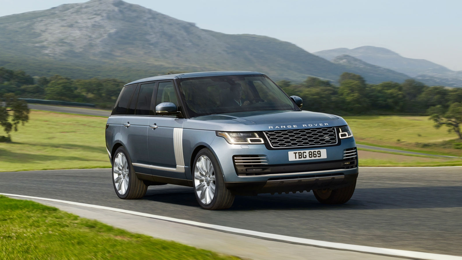 New 2019 Land Rover Range Rover model in Pasadena