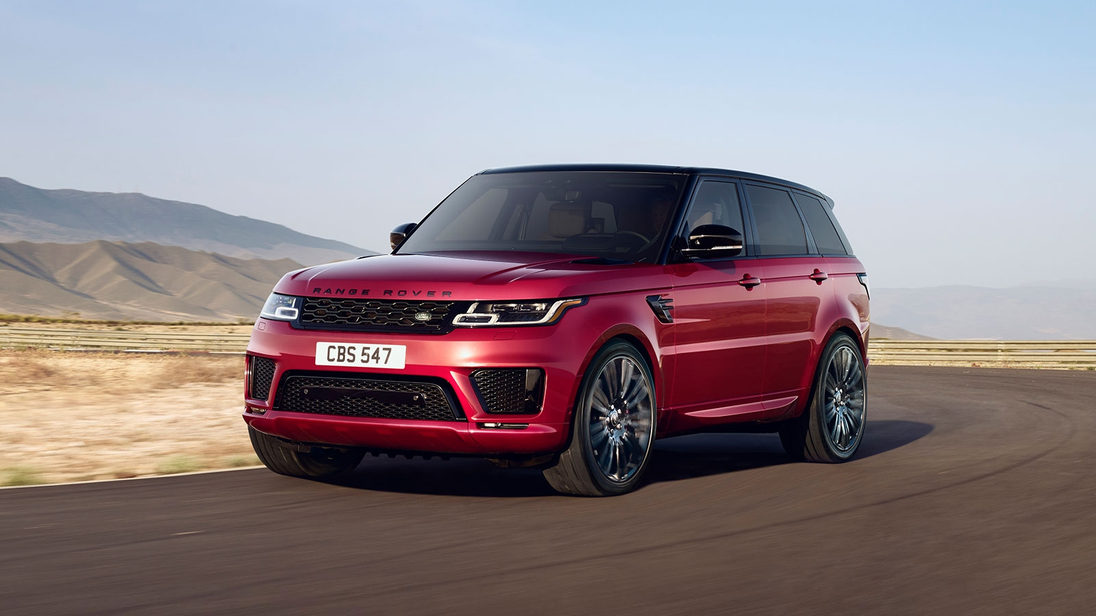 New 2019 Land Rover Range Rover Sport model in Pasadena
