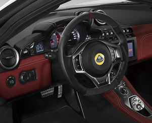 Lotus Evora 400 ALCANTARA® INTERIOR TRIM PACK
