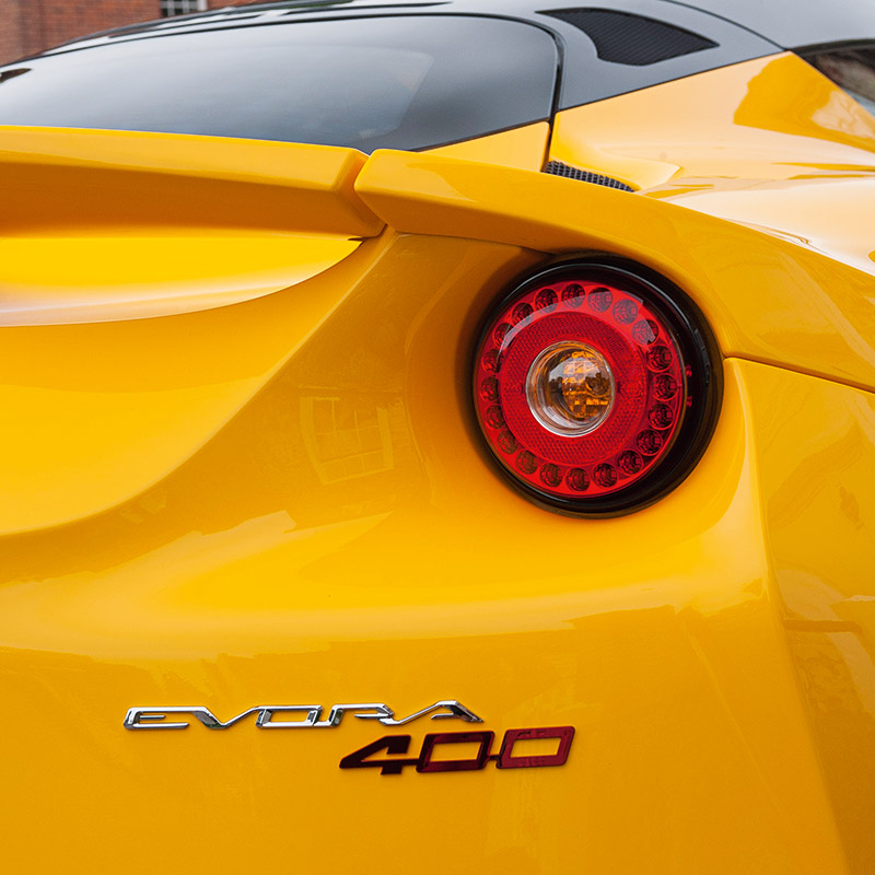 Lotus Evora 400 Design