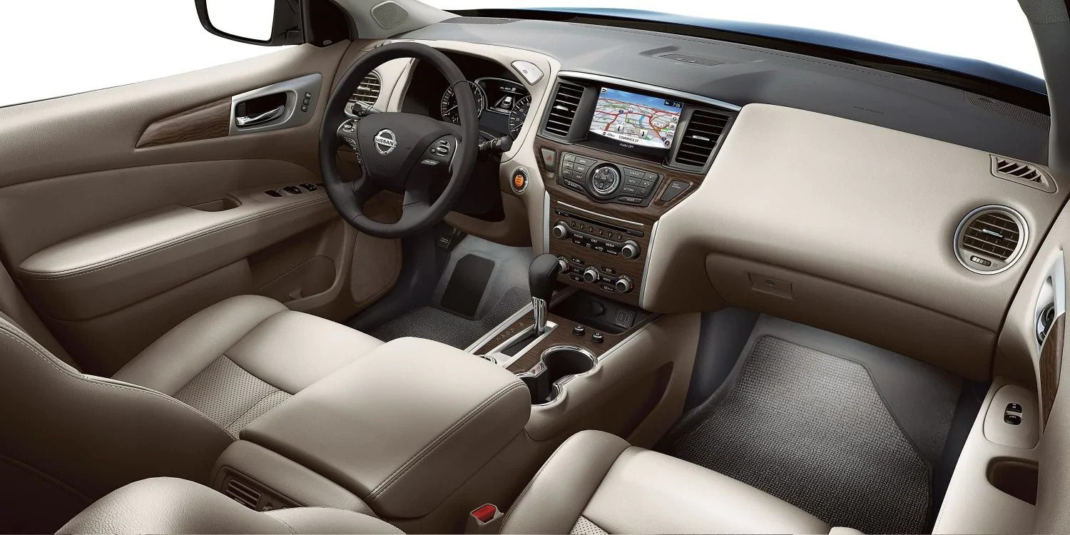 New 2019 Nissan Pathfinder Interior