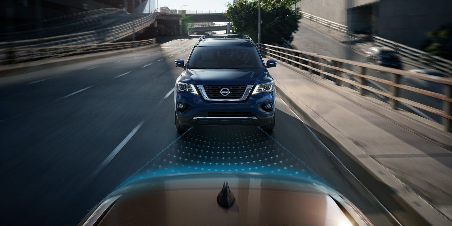 New 2019 Nissan Pathfinder Automatic Emergency Braking