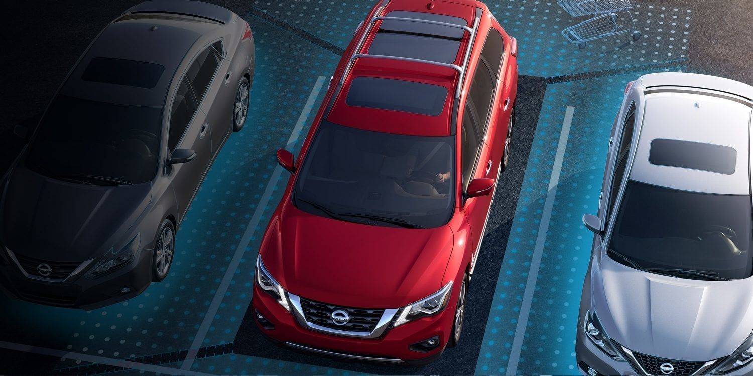 New 2019 Nissan Pathfinder Park Assist Technology