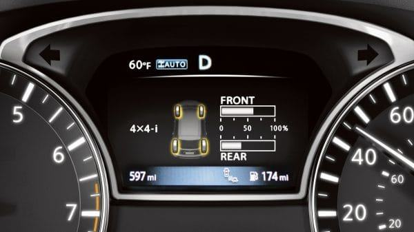 New 2019 Nissan Pathfinder Power Display