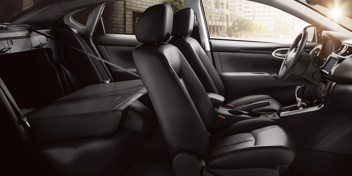 New 2019 Nissan Sentra Rear Seats Down