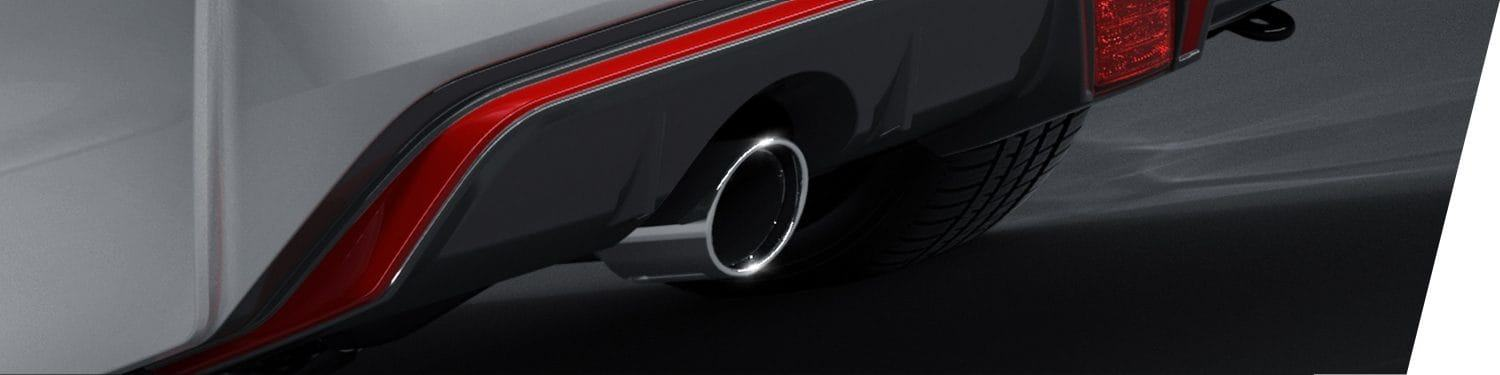 New 2019 Nissan Sentra Chrome Exhaust Finisher