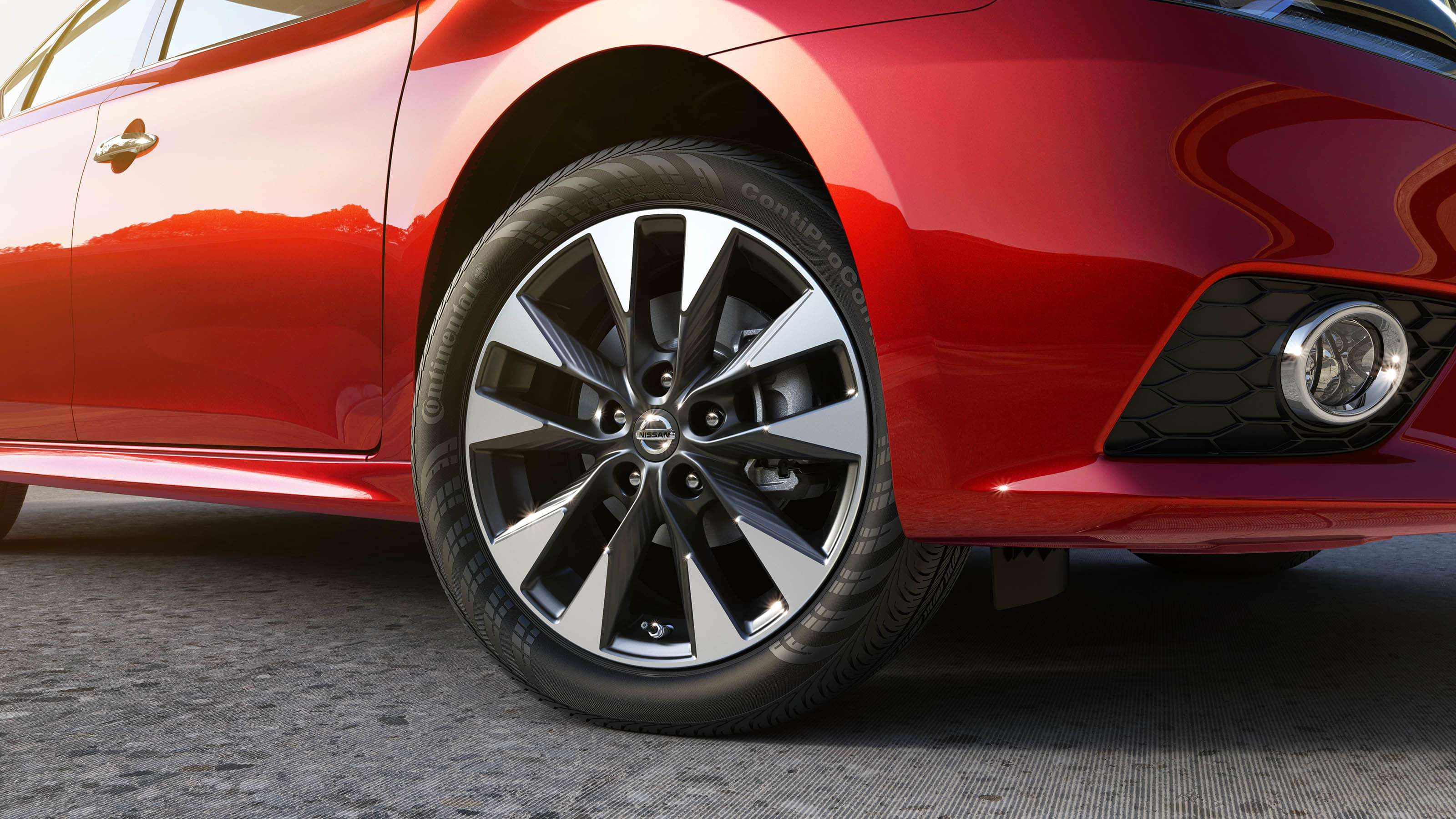 New 2019 Nissan Sentra 17 inch Alloy Wheels
