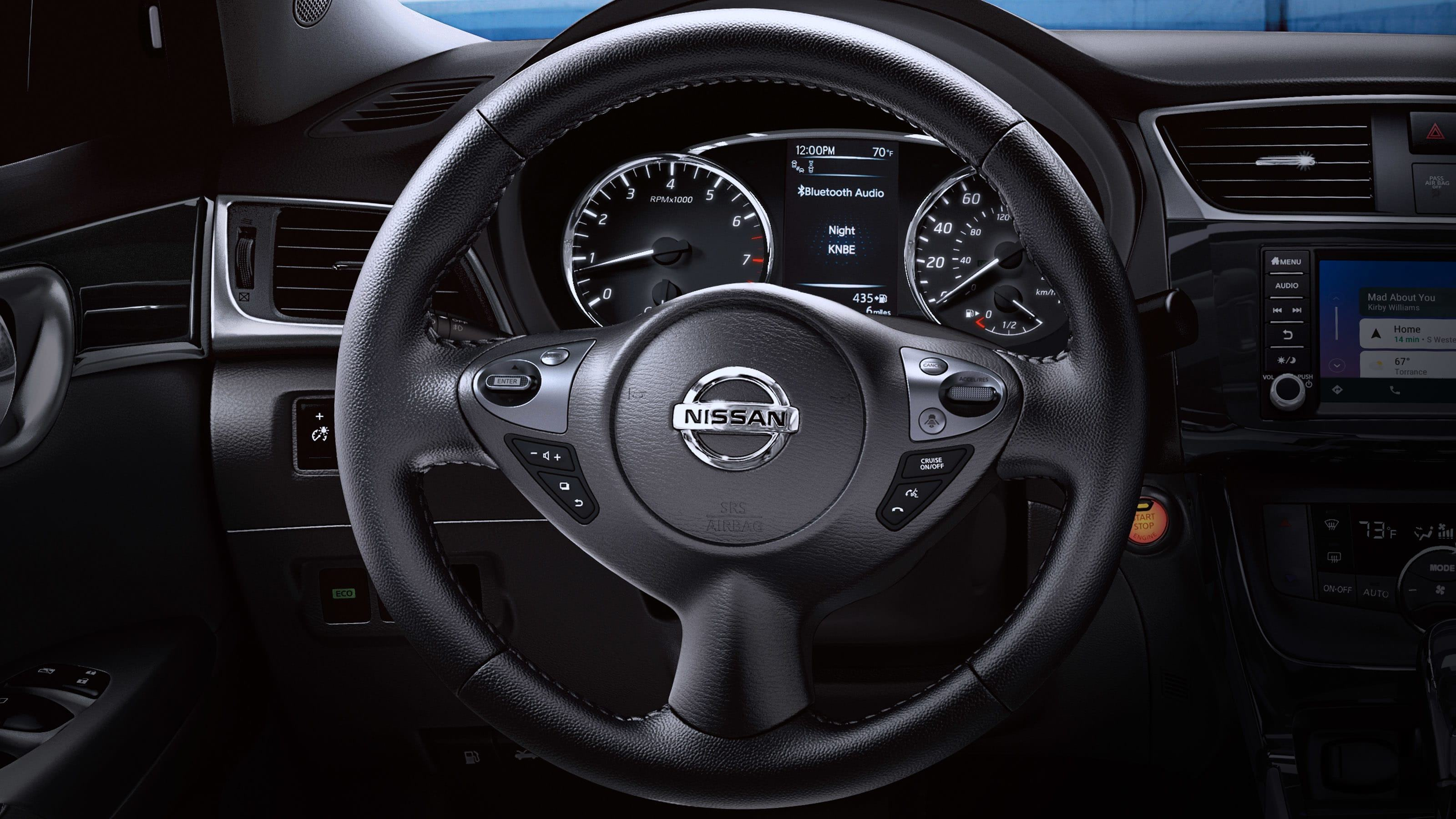 New 2019 Nissan Sentra 370Z®-Inspired Steering Wheel