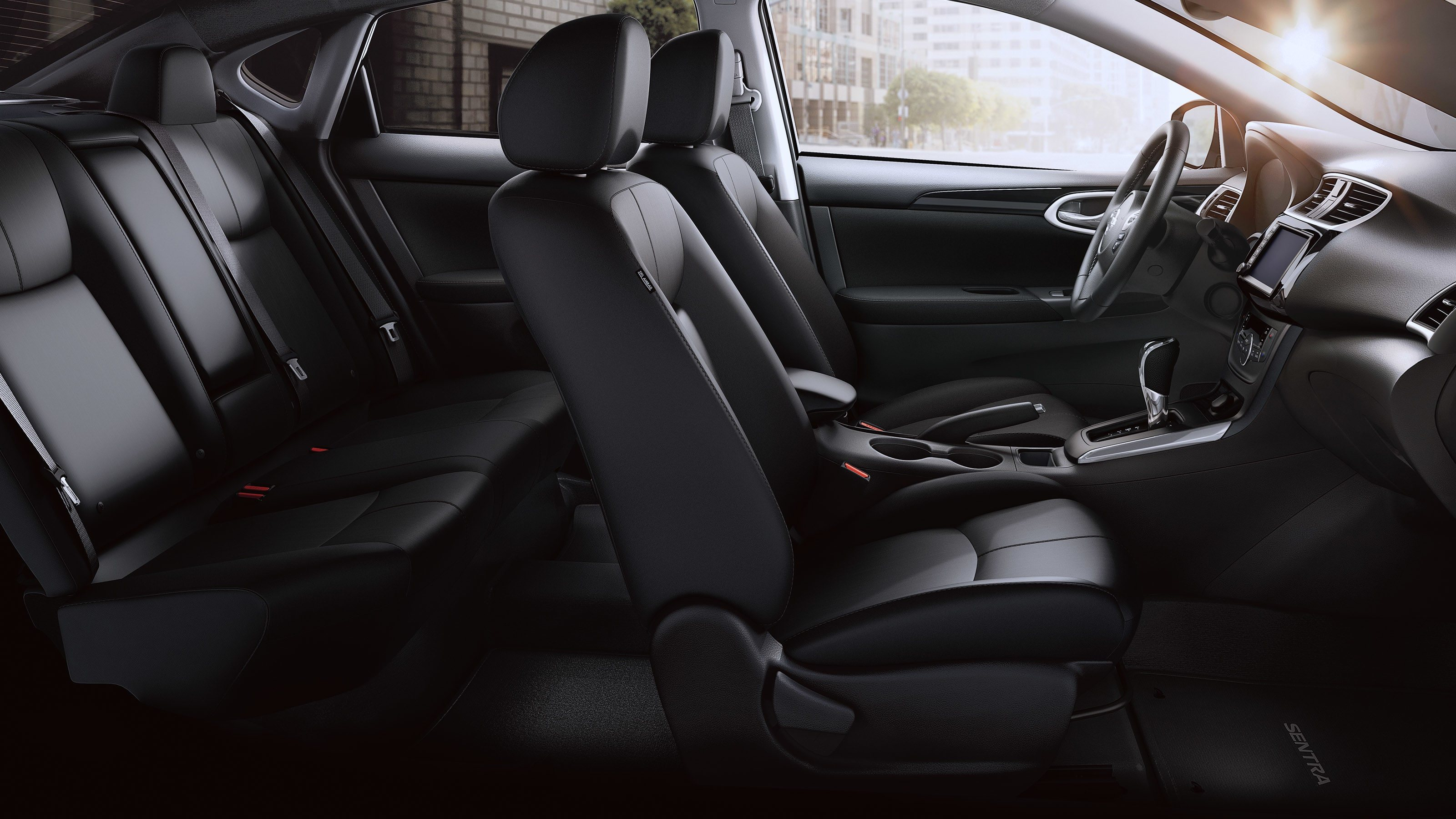 New 2019 Nissan Sentra Roomy Seating With Ample Leg Room