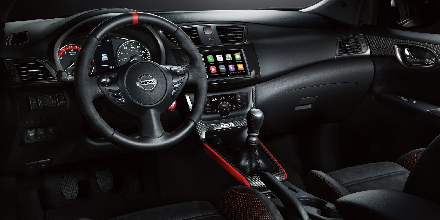 New 2019 Nissan Sentra Track-Inspired Interior Design