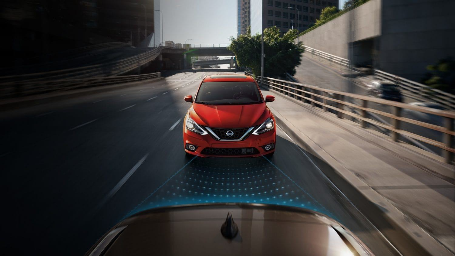 New 2019 Nissan Sentra Automatic Emergency Braking