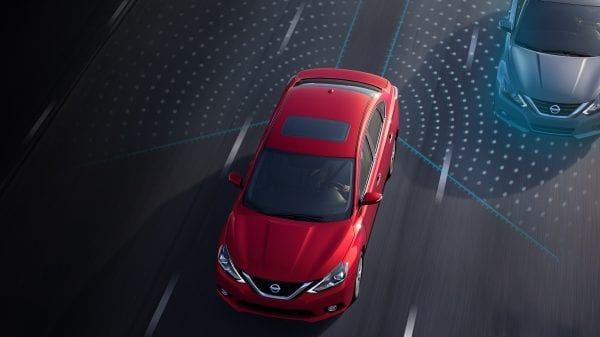 New 2019 Nissan Sentra Blind Spot Warning