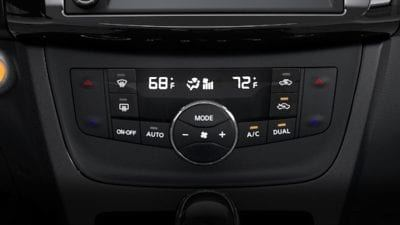 New 2019 Nissan Sentra Dual Zone Automatic Temperature Control