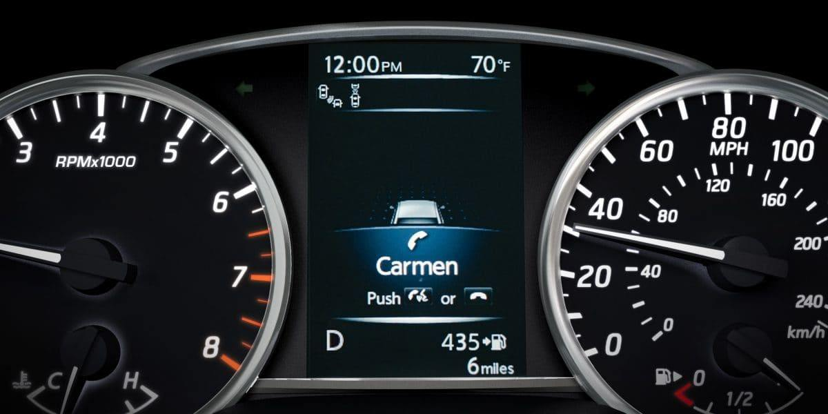 New 2019 Nissan Sentra Advanced Drive-Assist® Display