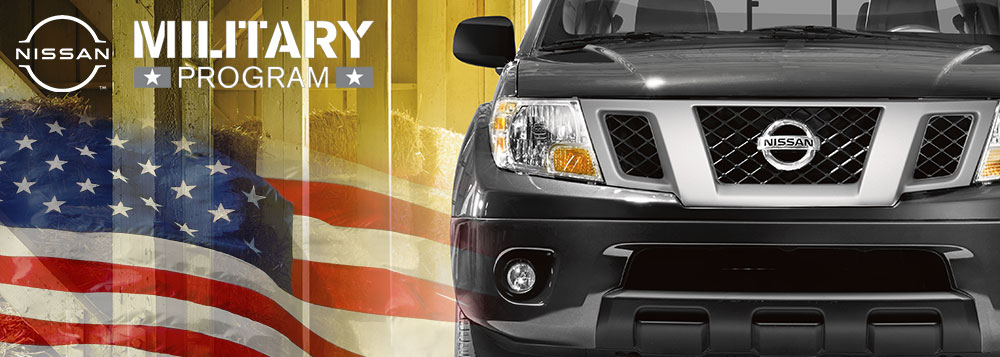 Mojave Nissan of Barstow's Military Program Offer in Barstow