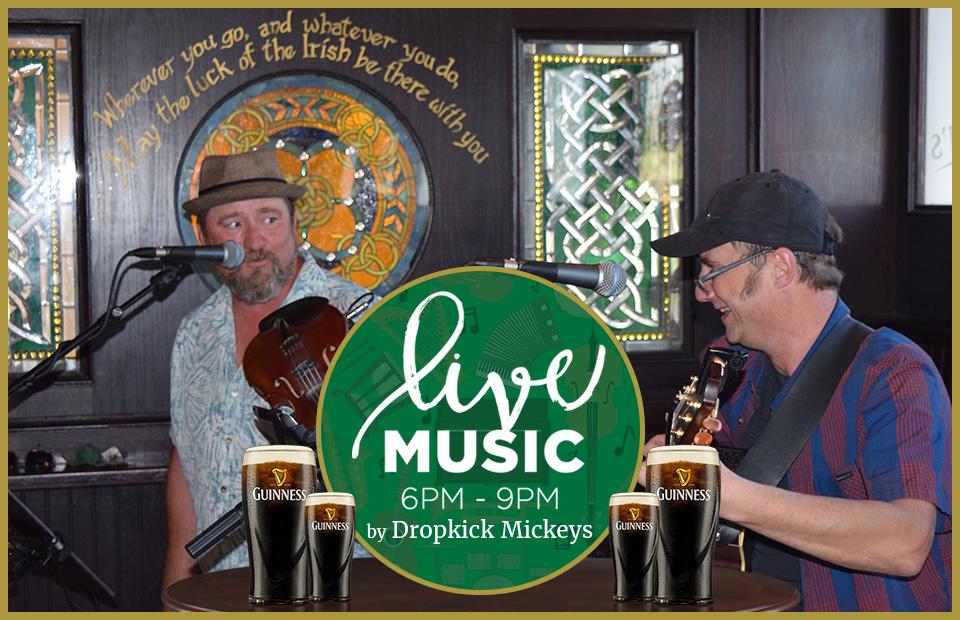 live music by The Dropkick Mickeys at Brendan's Irish Pub Camarillo in Ventura County