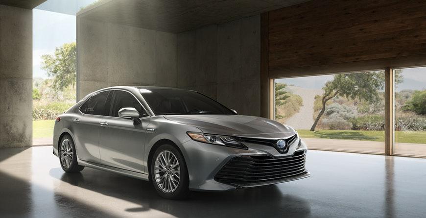 New 2019 Toyota Camry Hybrid Exterior Design